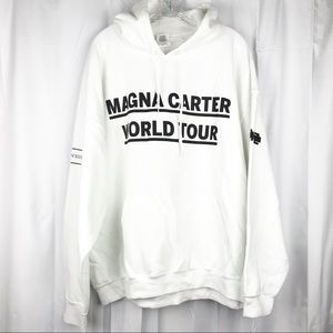 Magna Carter World Tour Hoodie Jay Z Band Graphic